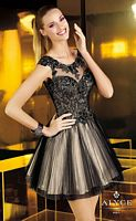 Alyce Short Sheer Dress 4338 image