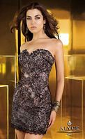 Alyce Short Beaded Lace Dress 4339 image
