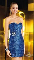 Alyce Short Sparkly Dress 4346 image