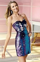 Alyce 4368 Short Sequin Dress image