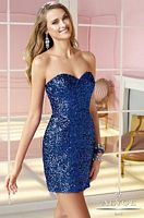 Alyce 4369 Sequin Cocktail Dress image