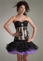 Jasz Drop Waist Bustier Party Dress 4413 image