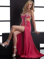 Jasz Sexy Prom Dress with Bold Side Cutout 4523 image
