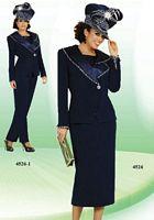 Ben Marc 4pc Womens Church Suit with Pants 4526 image