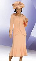 Ben Marc Embellished Womens Church Suit 4545 image