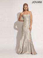 Jovani 4665 Silk Mermaid Dress image