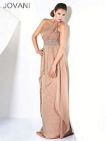 Jovani One Shoulder Evening Dress 470 image