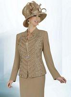 BenMarc Intl 47203 Womens Three Piece Church Suit image