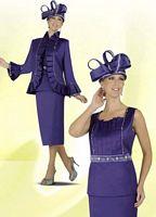 BenMarc 47229 Intl Womens Purple Church Suit image