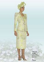 Ben Marc 47302 Three Piece Womens Church Suit image