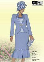 Ben Marc 47307 Womens 3pc Church Suit image