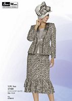 Ben Marc 47309 Womens Two Tone Church Suit image