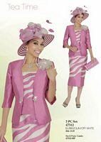 Ben Marc 47312 Womens 3pc Church Suit image