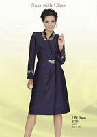Ben Marc Intl 47324 Womens Dress for Church image