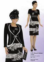Ben Marc Intl 47334 Womens Jacket Dress for Church image