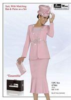 Ben Marc 47364 Womens Pink Church Suit image