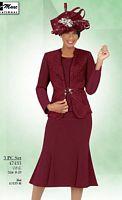 Ben Marc 47433 Womens Flattering Church Suit image