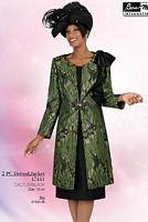 Ben Marc Intl Womens Long Jacket Church Suit 47441 image