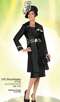 Ben Marc Ladies Church Suit with Long Jacket 47442 image