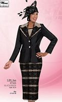 Ben Marc Intl Womens Church Suit with Lace 47444 image