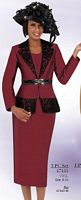 Ben Marc 47445 Womens Church Suit with Lace image