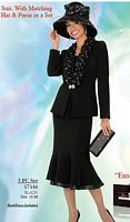 Ben Marc 47446 Womens Church Suit and Hat image