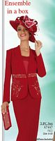 Ben Marc Intl Womens Church Suit with Hat 47447 image
