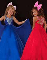 Sugar by MacDuggal Girls Royal Beauty Pageant Dress 4812S image