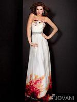 Jovani Ruffle Neck Evening Dress 4878 image
