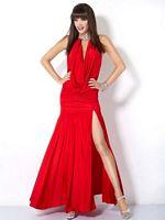 Jovani Draped Jersey Halter Gown 4888 image