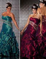 Fabulouss Plus Size Lace-Up Back Prom Dress by MacDuggal 4900F image