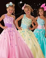 Sugar by MacDuggal Girls Princess Pageant Dress 50047S image