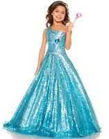 Sugar by Mac Duggal One Shoulder Organza Girls Pageant Dress 50051S image