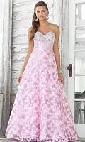 Pink by Blush Prom Vintage Tulle Ball Gown 5109 image
