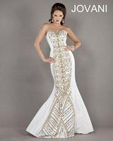 Jovani Beaded Mermaid Dress 5241 image