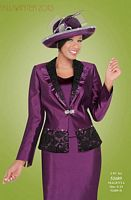 Ben Marc 52689 Fifth Sunday Womens 3pc Church Suit image