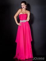 Jovani 5306 Jewel Waist Formal Dress image