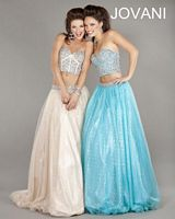 Jovani Two Piece Glitzy Evening Gown 5336 image