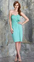 Size 10 Sea Bari Jay 554 Short Iridescent Chiffon Bridesmaid Dress image