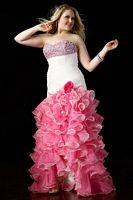 Alyce Prom Flamingo Plus Size Dress 56714 image
