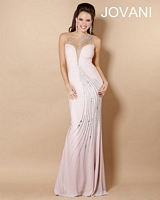 Jovani 5759 Sheer Illusion Jersey Gown image