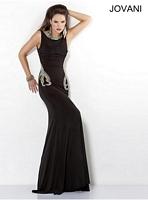 Jovani 5766 Black Formal Dress image