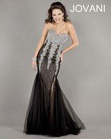 Jovani 5777 Beaded Mermaid Evening Gown image