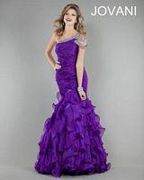 Jovani 5788 Ruffle Mermaid Party Dress image
