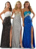 Party Time Formals 6000 Sequin Empire Dress image