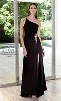Alyce 6001 Paris One Shoulder Jersey Evening Dress image