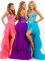 Party Time 6002 Heavily Beaded Formal Dress image