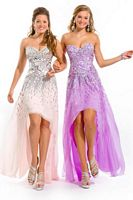 Party Time 6005 High Low Chiffon Formal Dress image