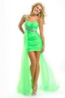 Party Time 6008 Soft Tulle High Low Party Dress image