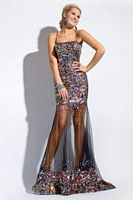 Party Time Formals 6009 Sequin Gown image